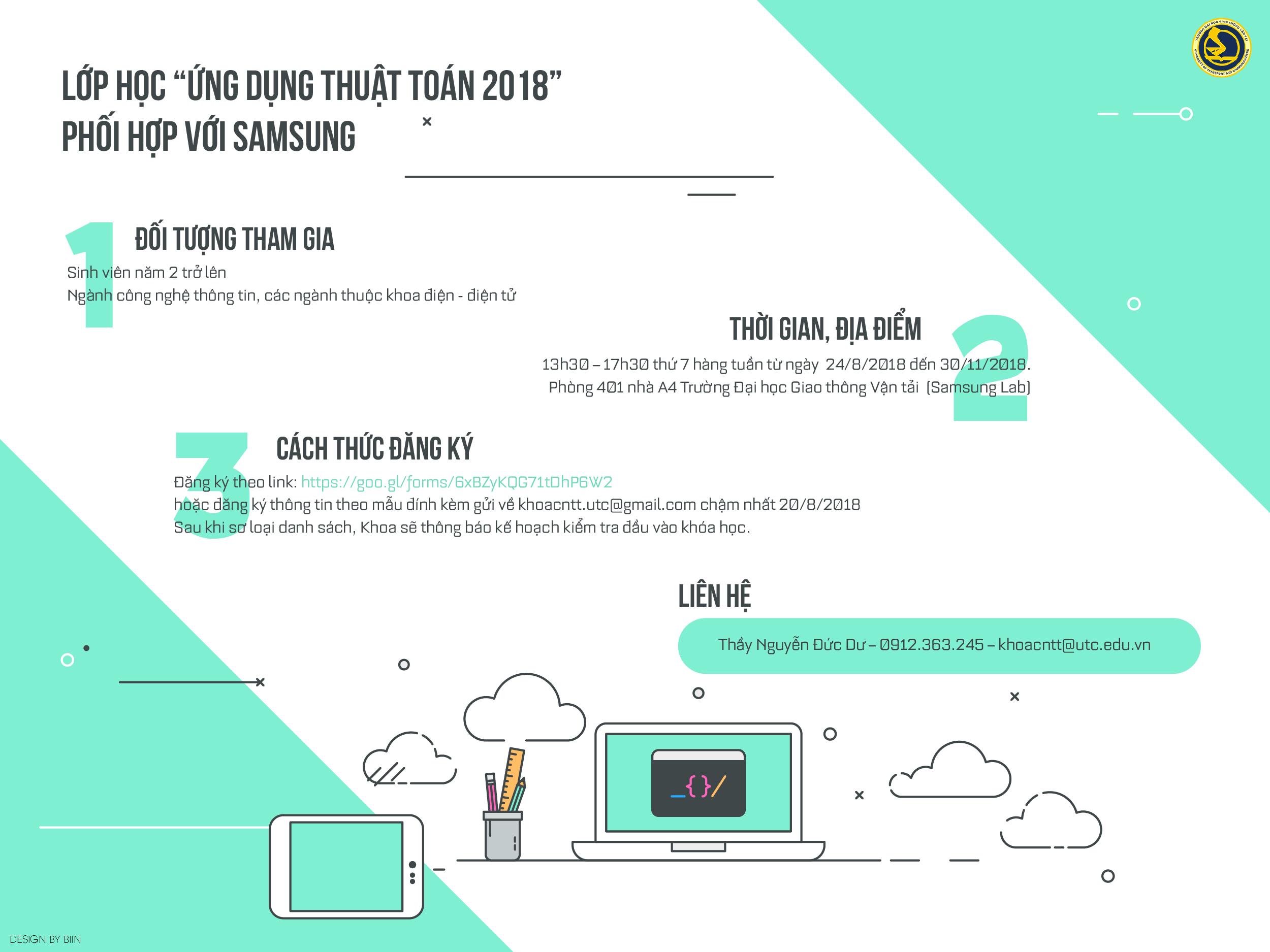 Thuật toán và ứng dụng 2018