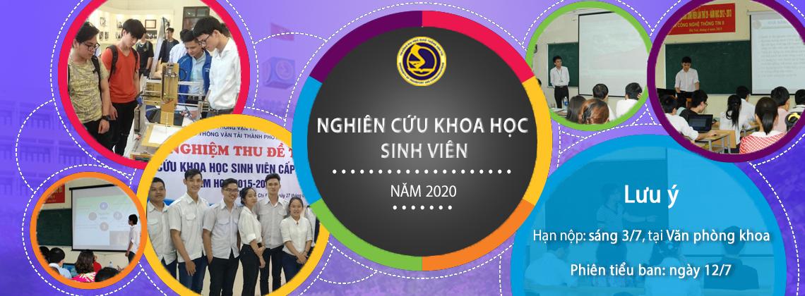 Thông báo về địa điểm và danh sách các tiểu ban NCKH SV 2019 - 2020