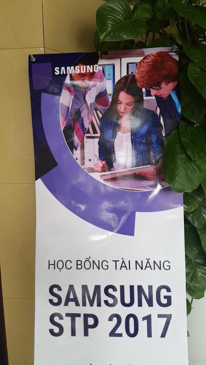 GIỚI THIỆU CHƯƠNG TRÌNH HỌC BỔNG TÀI NĂNG SAMSUNG 2017